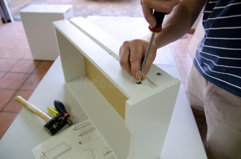 Flatpack stock afbeelding