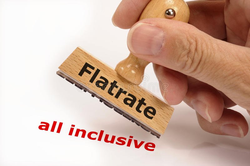 Flatrate stock images