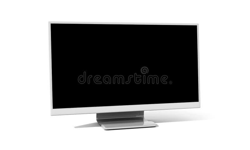 Flatscreen lizenzfreie abbildung