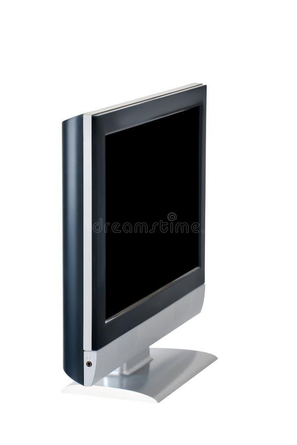 Flatscreen monitor royalty free stock photos