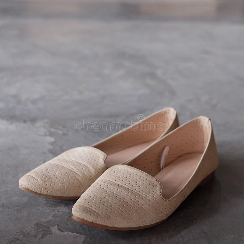 Flatshoes da mulher foto de stock royalty free