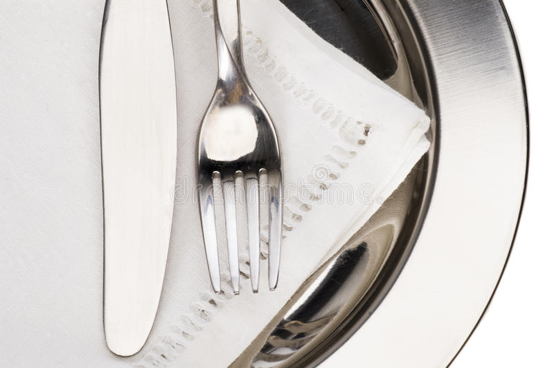 flatware royaltyfria foton