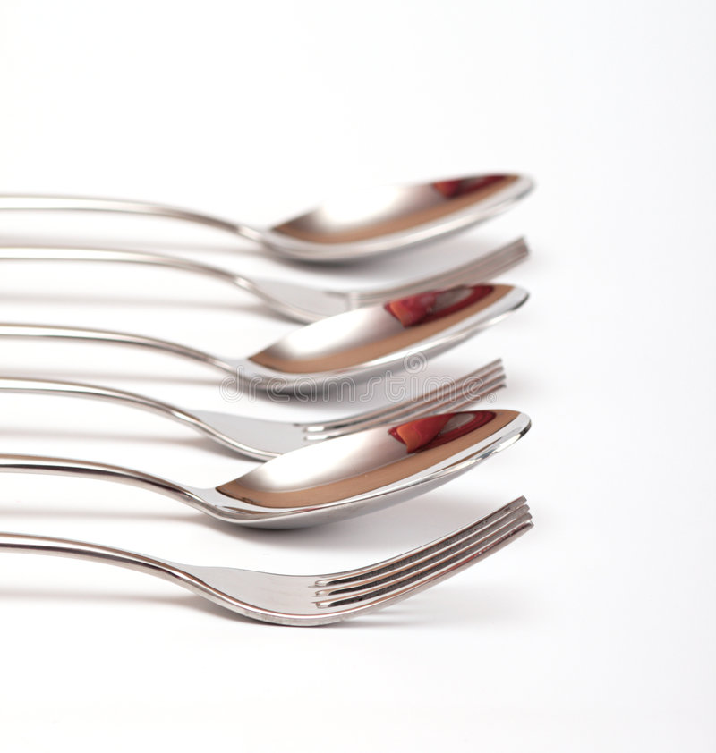 flatware obraz royalty free