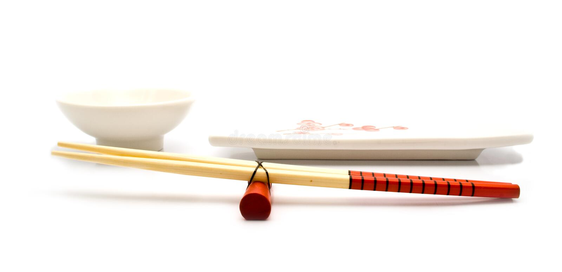 Download Flatwares chineses foto de stock. Imagem de cuisine, dieta - 12800046