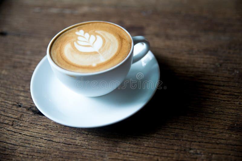 Flatwhite kaffe royaltyfria bilder