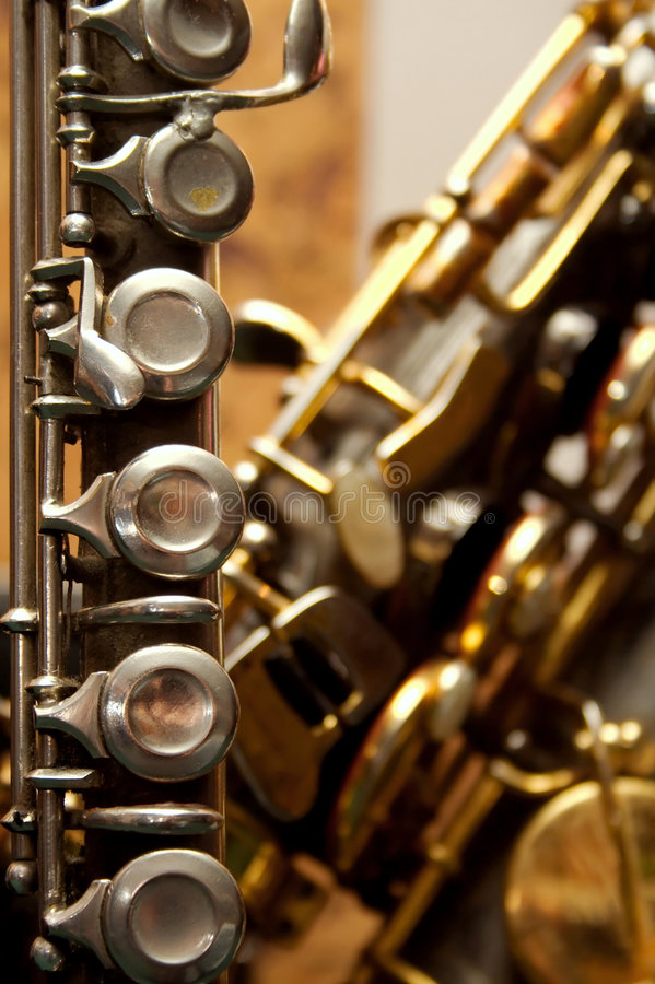 Flauta imagen de archivo libre de regalías
