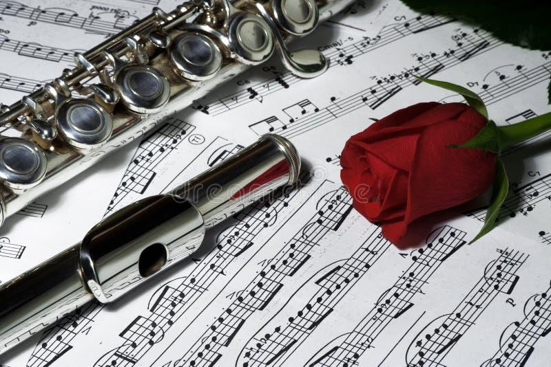 Flauta foto de archivo libre de regalías