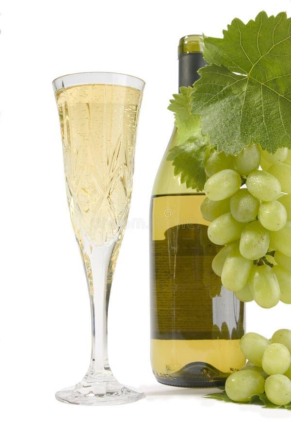 Flauta de Champagne fotografia de stock