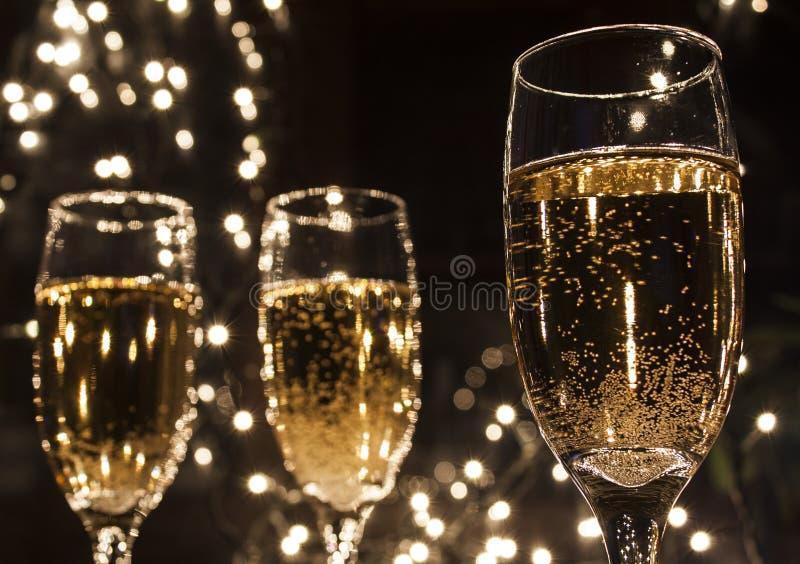Flautas de Champagne fotografia de stock