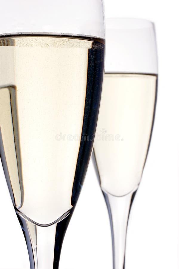 Flautas de Champagne imagens de stock royalty free