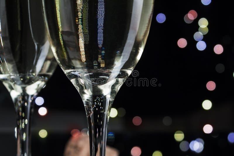 Flautas do champanhe fotos de stock