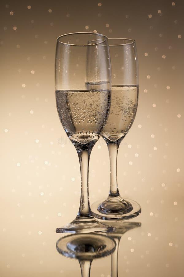 Flautas do champanhe foto de stock royalty free