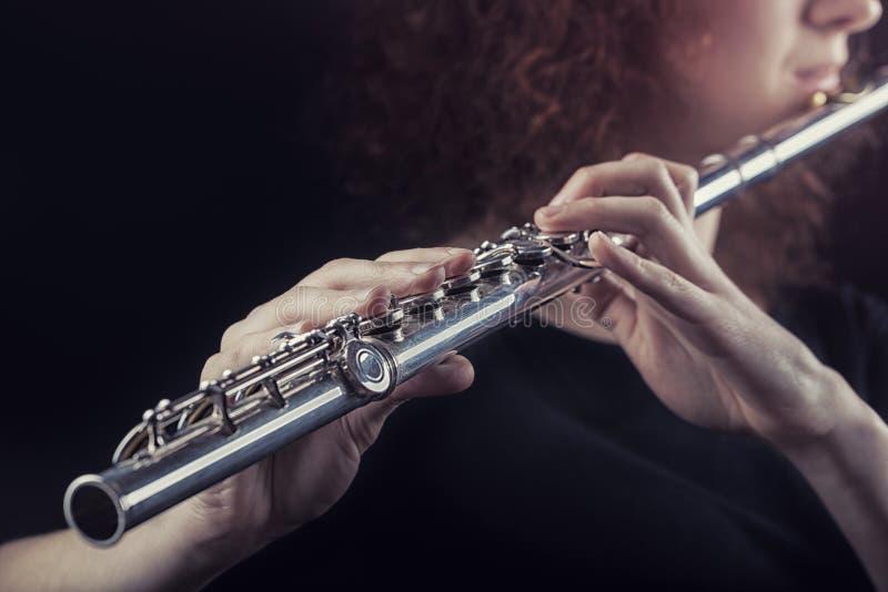 flautist photographie stock