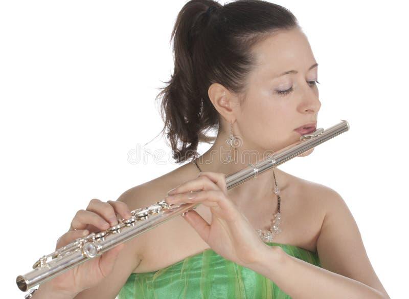 Flautist images stock