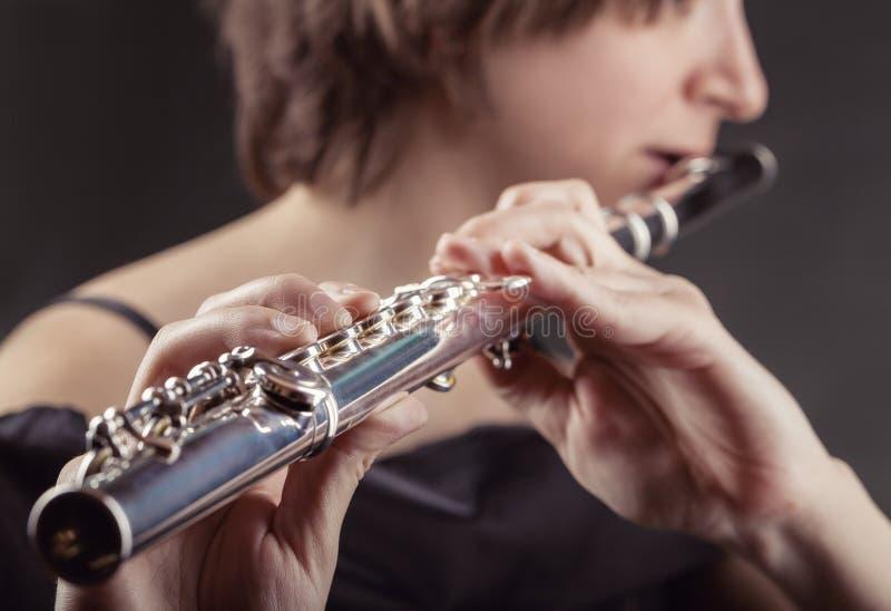 flautist photo stock