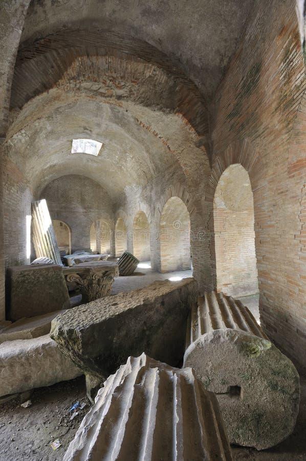 Flavian Amphitheater (Pozzuoli) imagem de stock