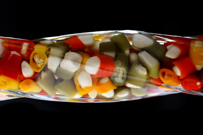 Download Flavored cooking oil stock image. Image of garlic, food - 23843815