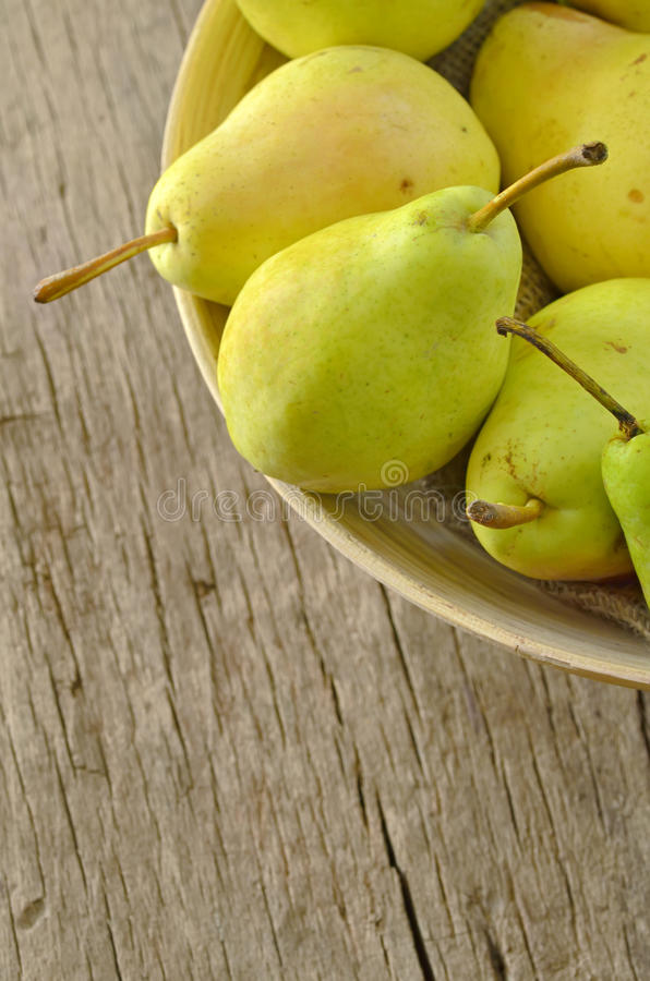 Flavorful Pears Stock Image