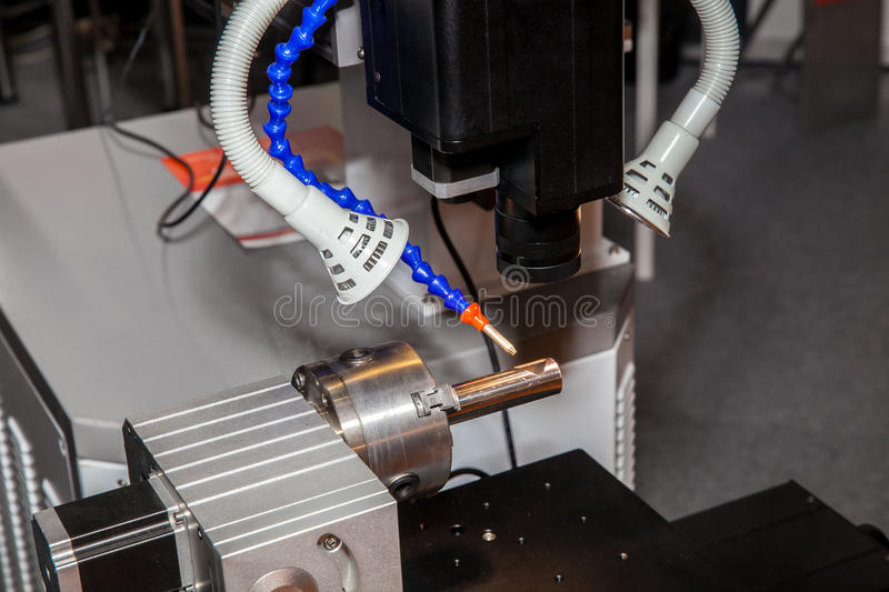 Flaw detector machine. For detection of cracks and defects in metal structure stock image