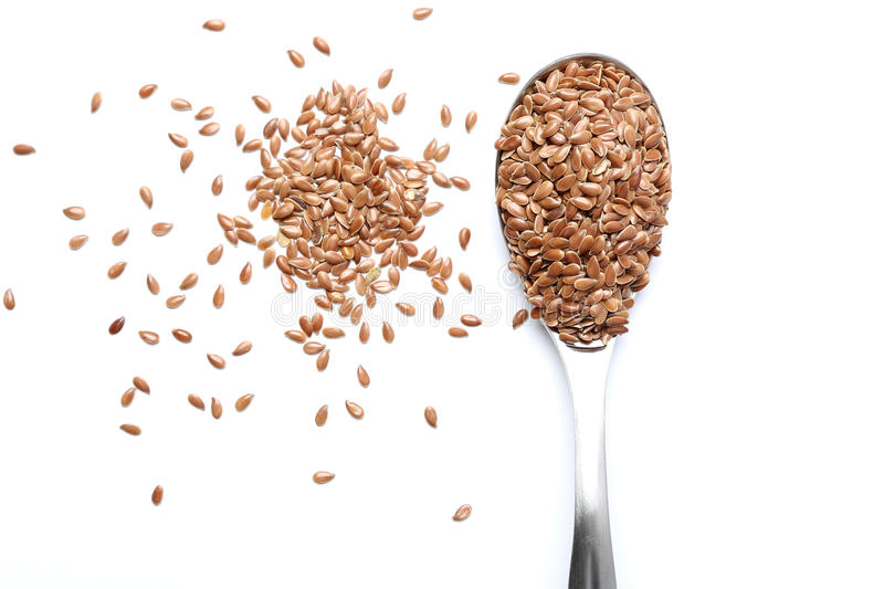 Flax seed stock images