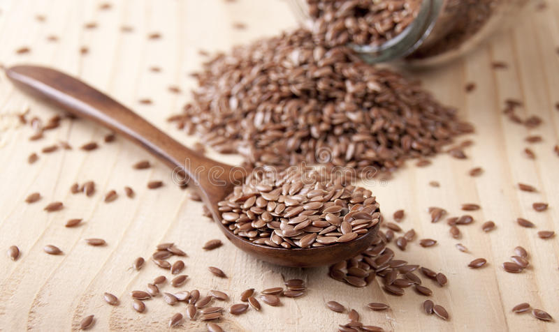 Flax seed royalty free stock images