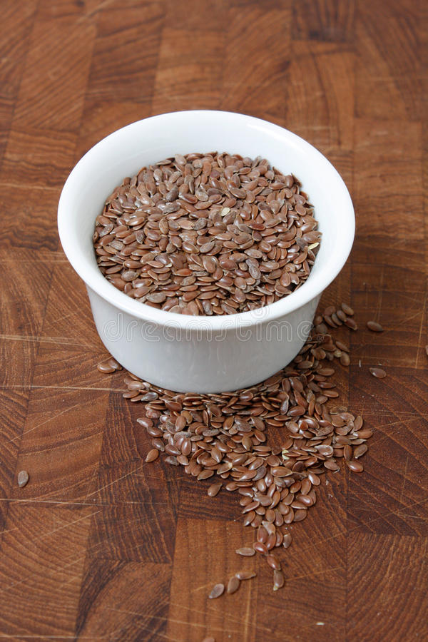 Download Flax seeds stock photo. Image of brown, bunch, ingredient - 10648654
