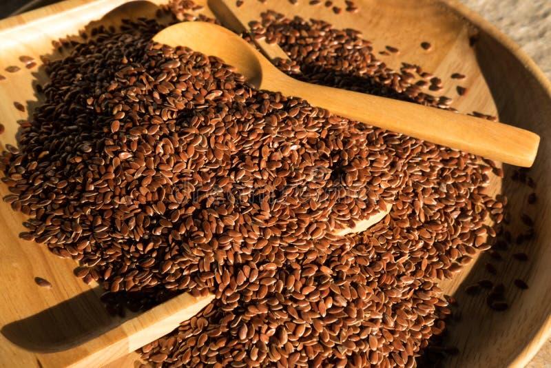 flaxseed zdjęcia stock