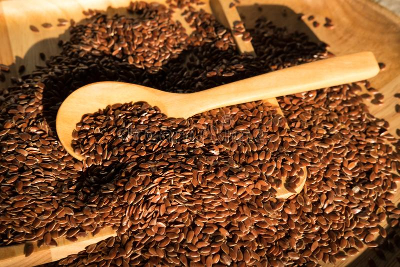 flaxseed immagini stock libere da diritti