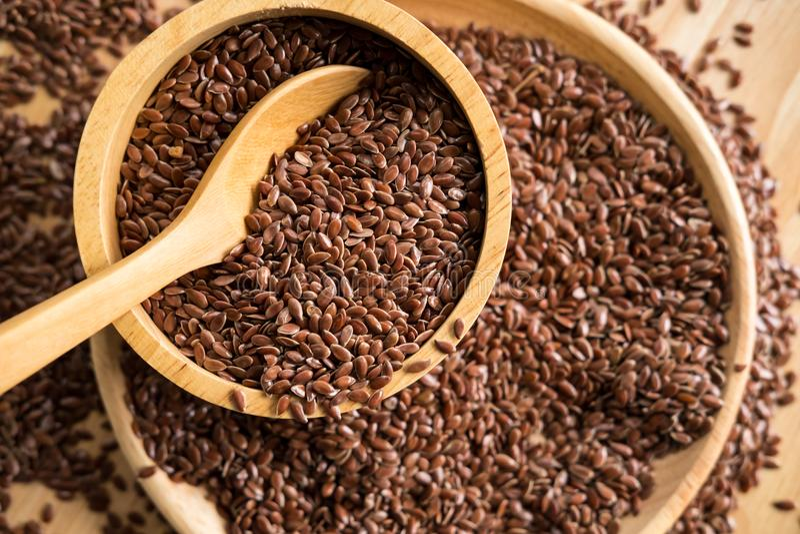 flaxseed zdjęcie stock