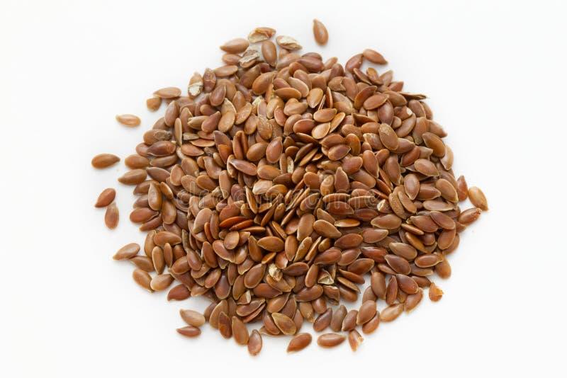 flaxseed стоковая фотография rf