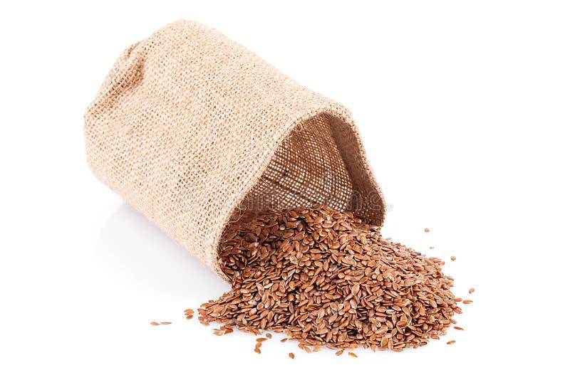 flaxseed immagine stock
