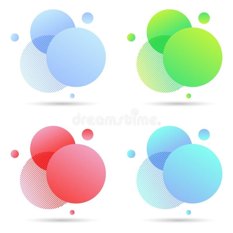 Элементы конспекта современные графические, для любого случая бесплатная иллюстрация