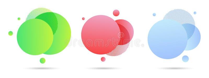 Элементы конспекта современные графические, для любого случая иллюстрация вектора