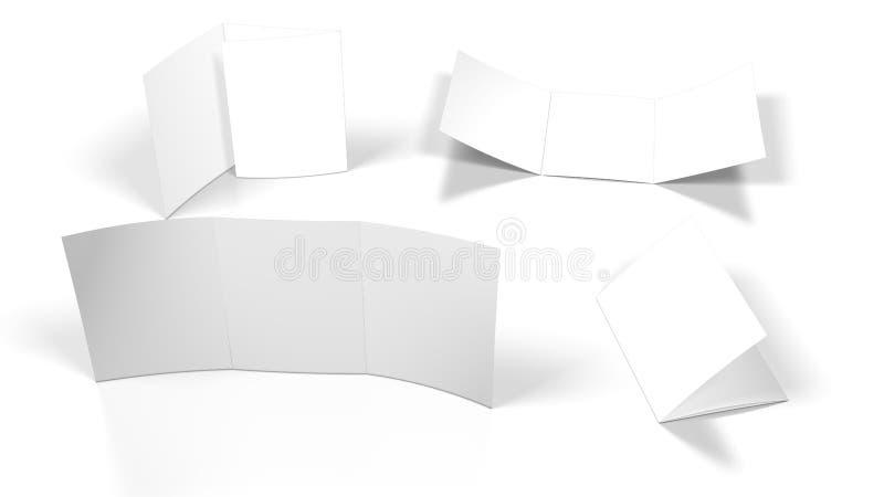 Flayer blank vector illustration