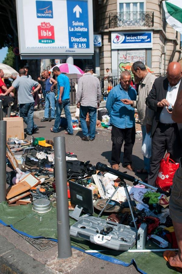 Flea Market Editorial Photo