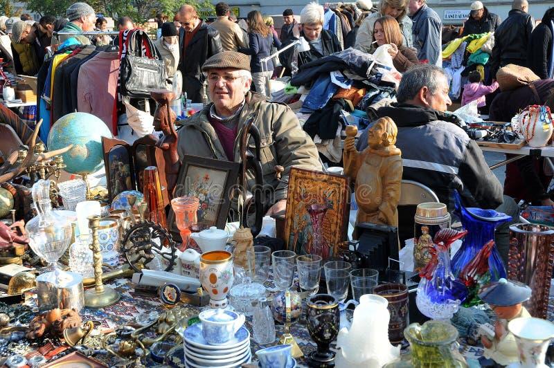 Flea market royalty free stock images