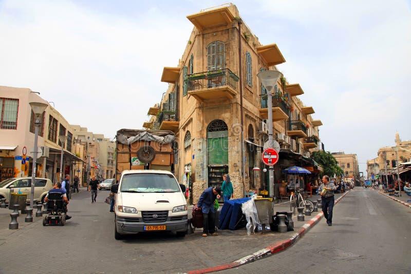 The Flea Market in Jaffa, Tel Aviv, Israel. royalty free stock images