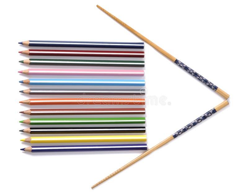 Flecha de la guía imagen de archivo libre de regalías