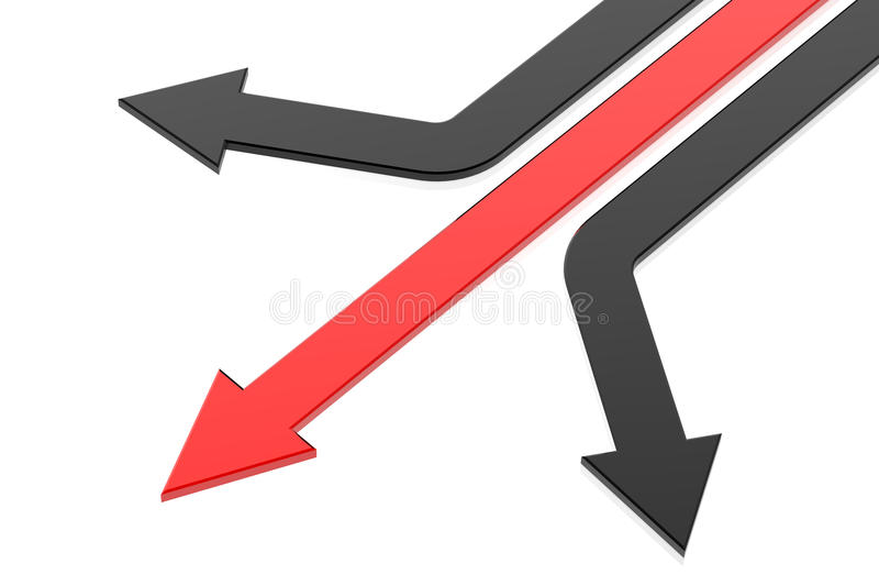 Flecha del éxito libre illustration