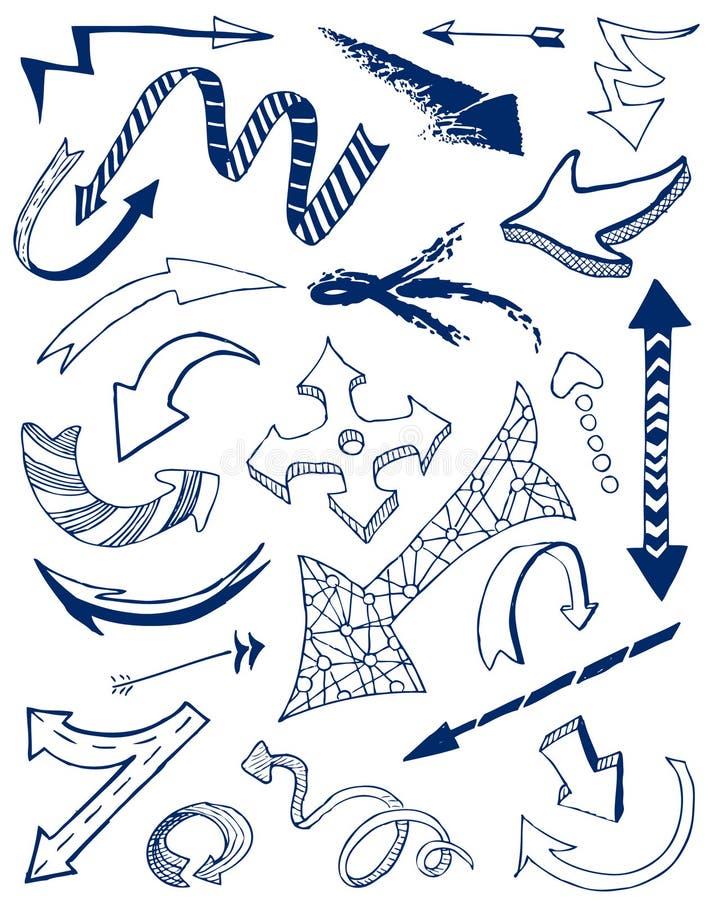 Flechas stock de ilustración