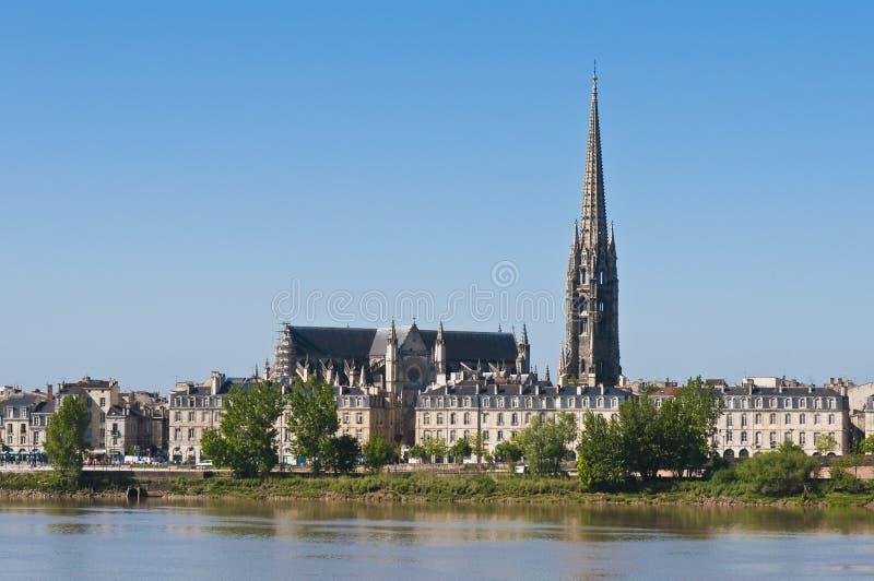 Download Fleche Do Saint Michel No Bordéus, France Imagem de Stock - Imagem de gothic, cidade: 16864609