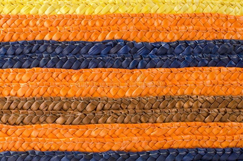 Flechtweide stripes Muster lizenzfreie stockfotografie