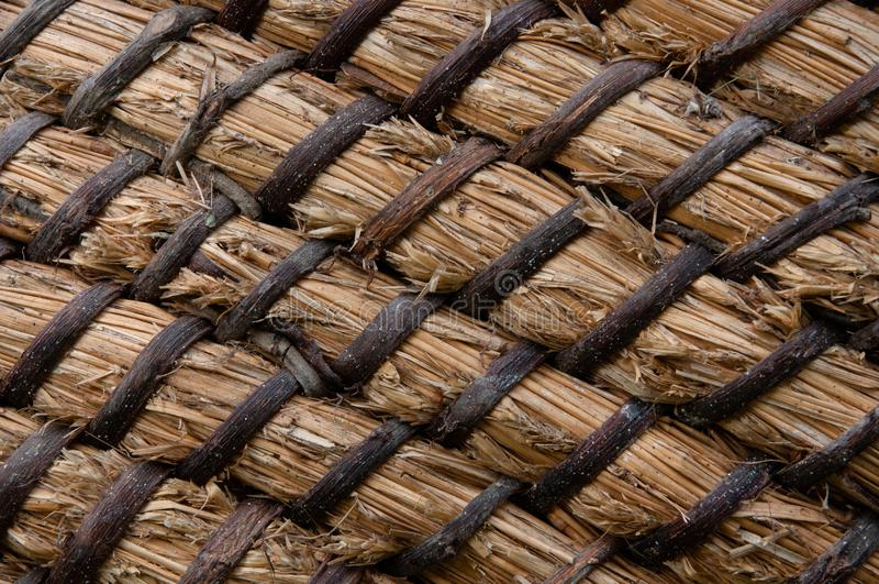 Flechtweiden- oder Rattankorbbeschaffenheit Korb für Stroh Hochauflösende nahtlose Beschaffenheit lizenzfreies stockbild
