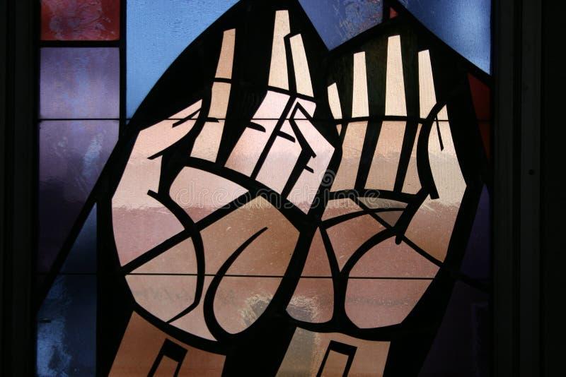 Fleck-Glas stockfoto