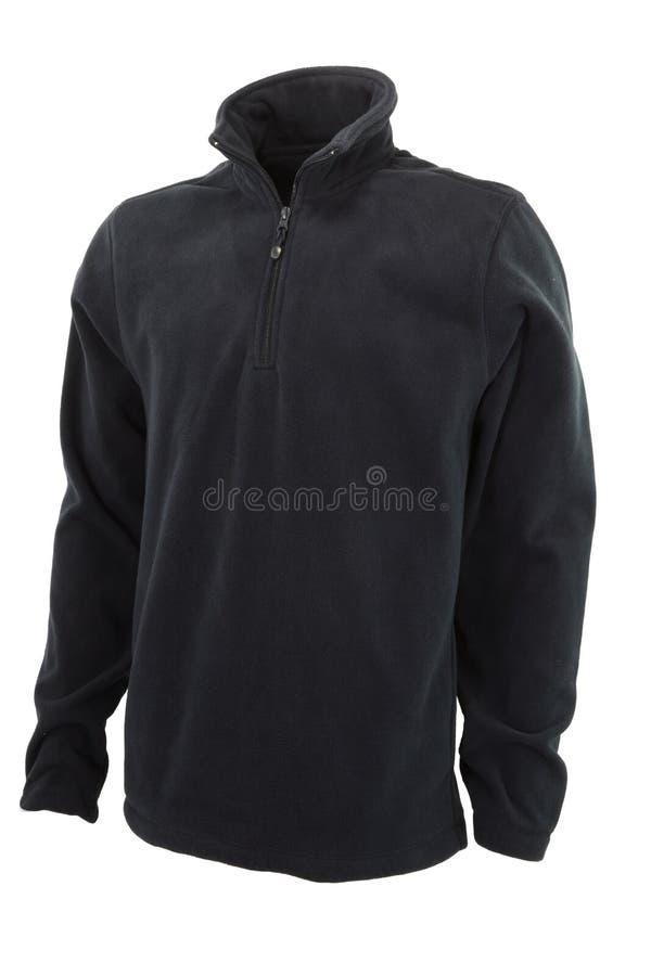 Fleece Quarter Zip Jacket stock images