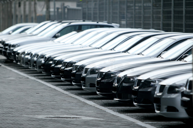Download Fleet of cars stock image. Image of rent, fronts, choice - 8767305