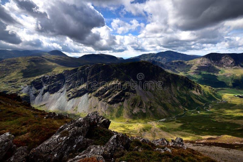Fleetwith szczupak od doliny głowy zdjęcie royalty free