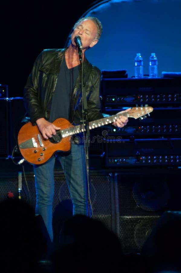 Fleetwood Mac In Concert - Sacramento, CA royaltyfria foton