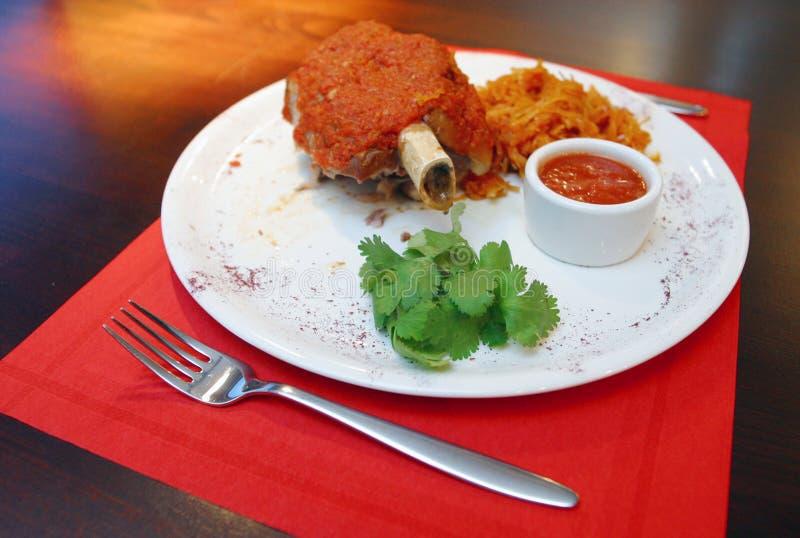 Fleisch auf Knochen 2 lizenzfreies stockfoto