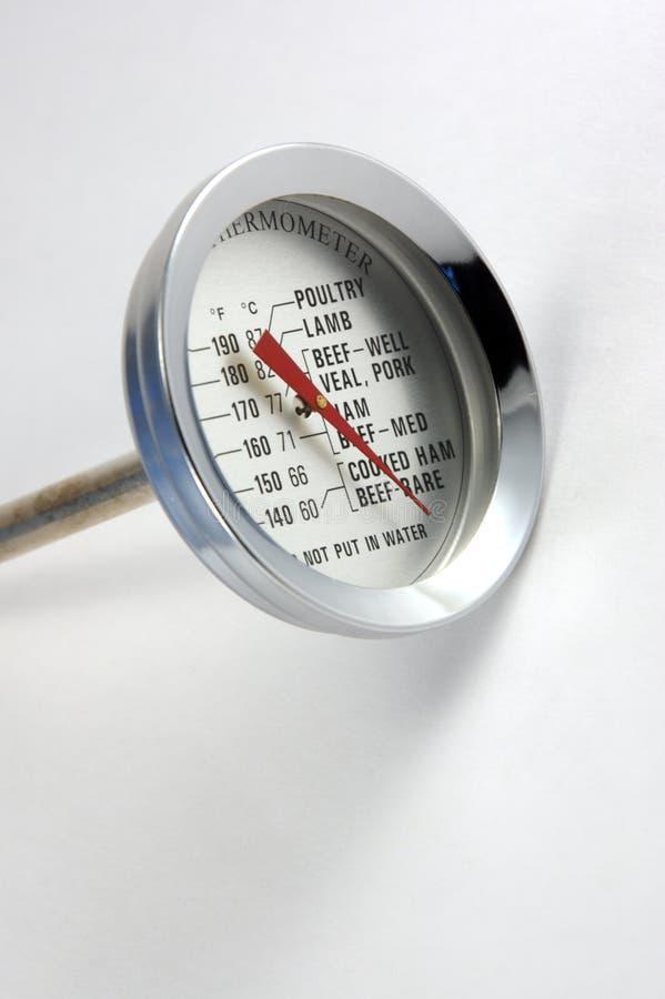 Fleisch-Thermometer lizenzfreie stockfotografie